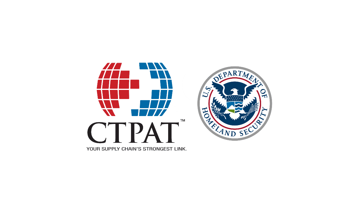 CTPAT and DHS logos